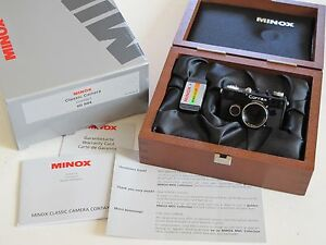 MINOX CONTAX 1 MINIATURE CAMERA SET NEW IN BOX