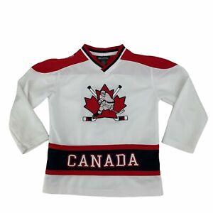 Canada Hockey Jersey Youth Boys Size S (7-8) Beverly Hills Polo Club Shirt
