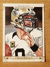 Drew Brees 2014 Museum Collection Canvas Card New Orleans Saints Quarterback