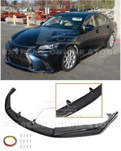 For 16-20 Lexus GS-Series JDM Lexon Style CARBON FIBER Front Bumper Lip Splitter