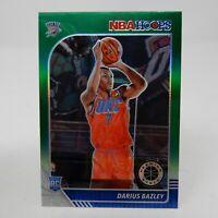 2019-20 PANINI NBA HOOPS PREMIUM STOCK DARIUS BAZLEY GREEN PRIZM RC NO.249 OKC