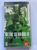 Metal Gear Solid: Bande Dessinee PSP PlayStation Portable JAPAN IMPORT