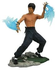 """Bruce Lee Gallery Water PVC 9"""" Statue Figure New Diamond Select Toys"""