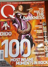 Q MAGAZINE FEBRUARY 2004 - THE DARKNESS - SEAN PAUL - U2