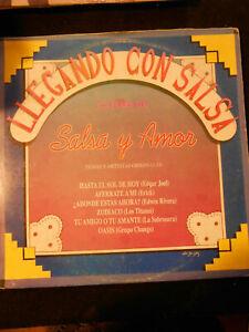 33 GIRI LP DISCO SALSA Y AMOR - LLEGANDO CON SALSA - VINTAGE