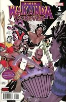 WAKANDA FOREVER X-MEN #1 MARVEL COMICS COVER A  1ST PRINT
