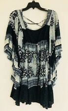 Heart Of Gold Dress by Free People Indigo Combo - Sz XS - Pre-owned