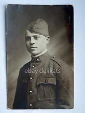 MILITARE soldato Benevento vecchia cartolina
