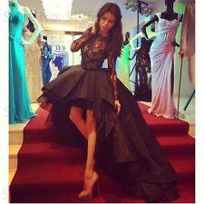 High Low Asymmetrical Prom Dresses Celebrity Dresses Red Carpet Dresses 2016