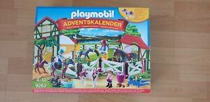 PLAYMOBIL Adventskalender 9262 Reiterhof