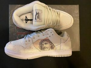 The Passion of Christ Dunks - Kito Wares - Size 8 READY TO SHIP