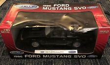 Welly Limited Edition 1986 Ford Mustang SVO Black Diecast 1:18