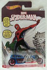 NEW HOT WHEELS SPIDER MAN STREET CREEPER 01/08 MOC Marvel amazing fantasy #15