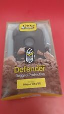 New Open Box Authentic Otterbox Defender for iPhone 5/5S/SE - black