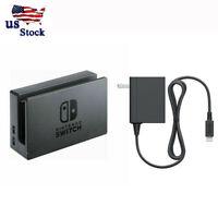 OEM Switch Dock w/ AC Power Adapter Set For Nintendo switch Black