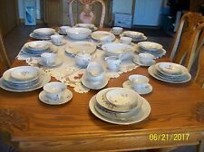 Royal Duchess Porcelain China 7 Piece Place For 8 & Extra's Mountain Bell (67)