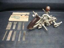 Vintage Farm Fresh Find Stanley 45 Plane w/ Cutters & Attachments NICE1