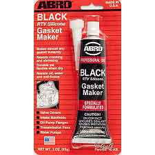 ABRO RTV SILICONE GASKET MAKER Black SEALANT 85G TUBE