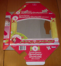 STRAWBERRY SHORTCAKE  SWEET SLEEPER  BOX ONLY WITH INSERT CARD 1984  KENNER
