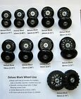 Replacement Luggage / Inline Skate Wheels - Set of (2) -- FREE SHIPPING from USA