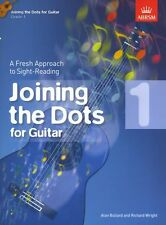 Joining The Dots Learn Sight Read Reading Play Guitar Lesson Music Book Grade 1