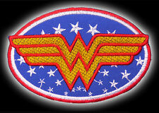 WONDER WOMAN - DC Comics Heroine Series / Belt Logo - Top Quality Iron-On Patch!