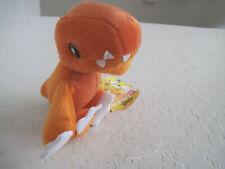 "Bandai Digimon AGUMON 7"" Plush Stuffed Animal"