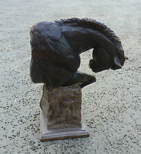 "Eli Hopkins- Limited Edition Bronze Horse Sculpture- ""Endurance"""