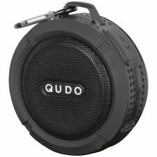 Qudo Splashproof Wireless Speaker Black