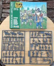 Revell 1/72 Thirty Years War Imperial Artillery figures set 02566 boxed on sprue