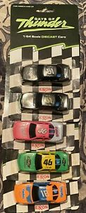 1/64 Scale NASCAR Days Of Thunder Set Of 5 Cars As In The Movie