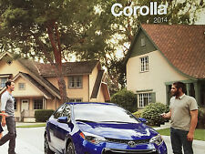 Mint Condition  2014 Toyota COROLLA/ LE ECO PREMIUM CAR Dealer Brochure 14