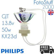 GJT 13.8v 50w KX23d Philips 13125 | Flying Leads | Disco / Stage / Studio Bulb