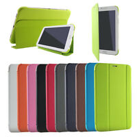Per Samsung Galaxy Tab3 7.0/Tab4 8.0 Custodia Cover Auto Wake Sleep Lusso