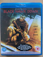 Black Hawk Down Blu-ray 2001 Somalia War Action Movie Classic