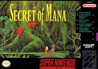 Secret of Mana - SNES Super Nintendo - Cart Only - New Condition - Free Shipping