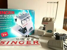 Singer Tiny Serger TS380A Overedging Portable Sewing Machine