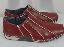 NEW Diesel peaches slip on red womens rain shoes SZ 8.5