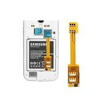 Dual SIM Card Adapter per Samsung Galaxy S5/G900, S IV/i9500, S III/i9300, noti