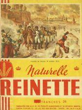 IMAGES 105792 REINETTE NAPOLEON  INCENDIE DE MOSCOU (pas buvard)