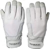 PGX Gloves Signature Series Baseball Batting Gloves (White Camo, Small)