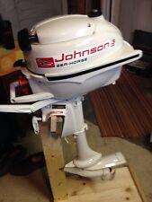 1960 JW 16 Johnson Outboard 3HP Motor