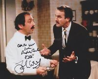 John Cleese & Andrew Sachs HAND SIGNED 8x10 Photo Autograph Fawlty Towers