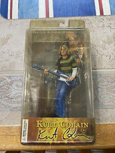 "NECA 7"" Kurt Cobain Action Figure NIRVANA ""SMELLS LIKE TEEN SPIRIT"" Never Opened"