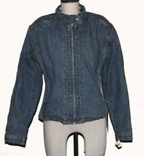 Red Route LONDON Denim 5 Removable Pads Bike Riding Jacket Wms 12 NWT DISC 2009