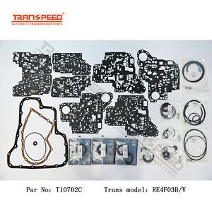RE4F03B RE4F03V Transmission Overhaul Seal Kit For NISSAN Transpeed T10702C