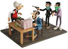 Statuette résine Spirou et Fantasio Saynète complète 'L'Enlèvement'