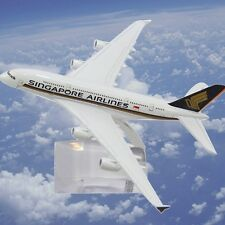 New SINGAPORE AIRLINES AIRBUS A380 Passenger Plane Airplane Metal Diecast Model