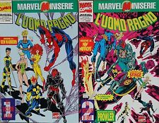 SPIDERMAN NEW WARRIORS - GLI UCCISORI DI EROI 1 e 2 MARVEL MINISERIE 6 e 7  -E2