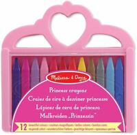 Melissa & Doug PRINCESS CRAYON SET Art/Colouring/Drawing Baby/Toddler/Child BN